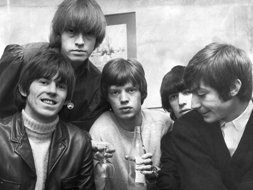 The young Rolling Stones