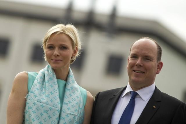 Prince Albert II and Princess Charlene