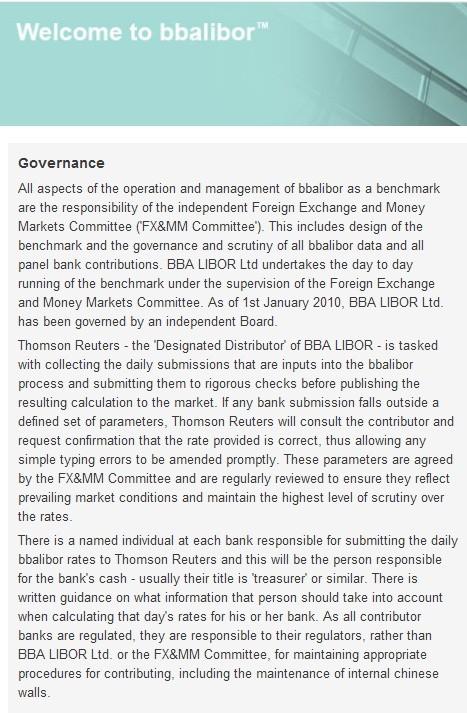 BBA Governance