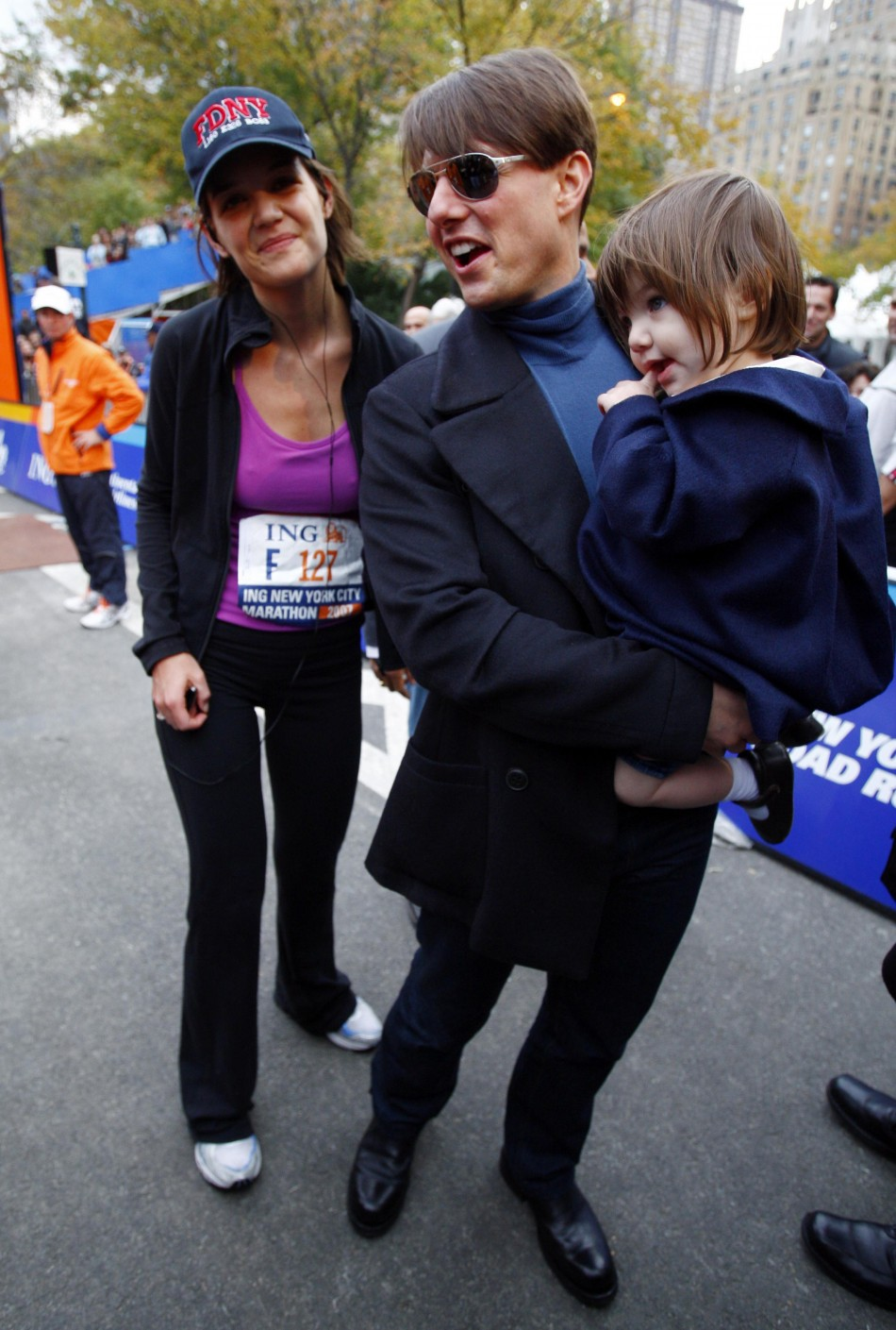 Tom Cruise, Katie Holmes, Suri