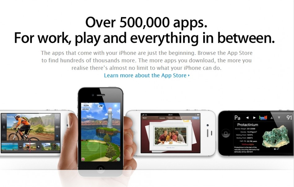 apple app store Mobile App Market Still Party to black practices develop in Brighton 2012