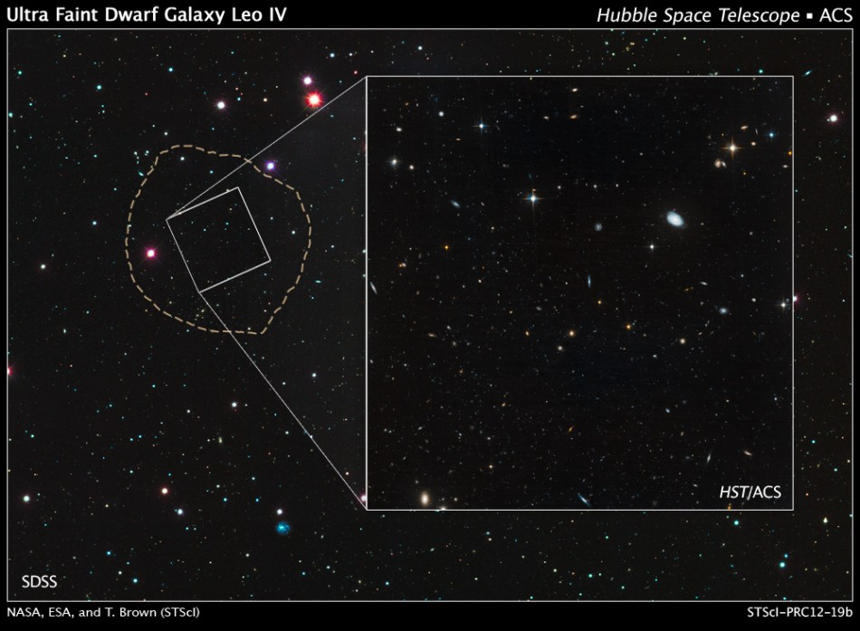 Leo IV galaxy image