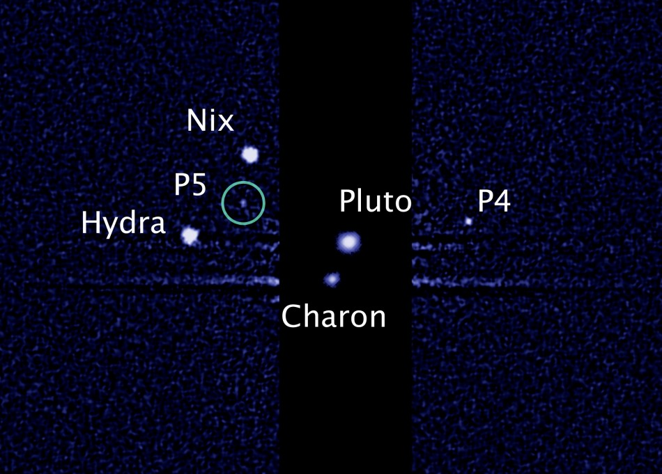 Hubble Telescope Discover Fifth Moon Orbiting Pluto