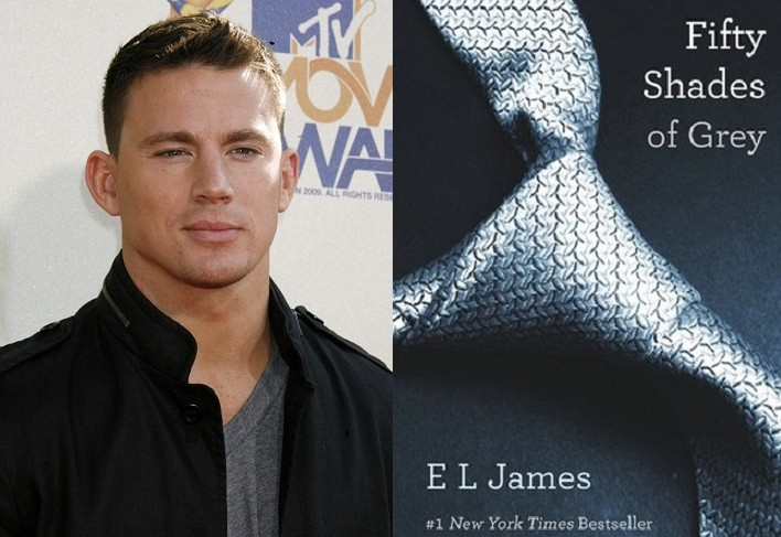Channing Tatum and Fifty Shades of Grey