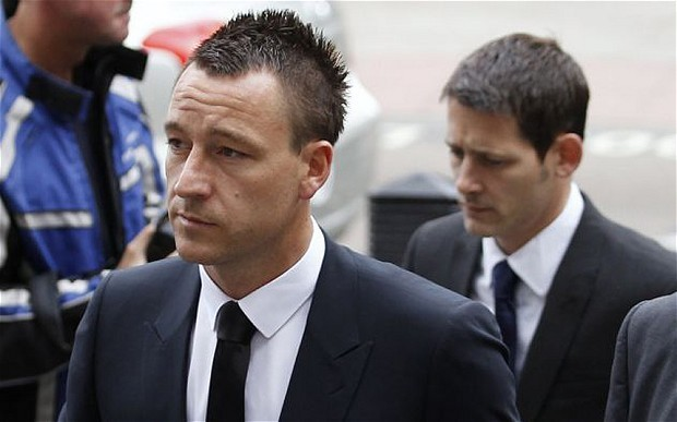 John Terry could become first professional footballer in England convicted of racial abuse during a game (Reuters)