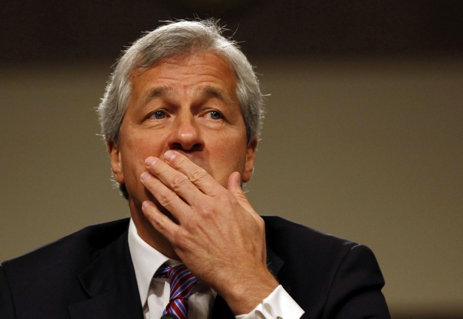 Jamie Dimon in June's US senate hearing