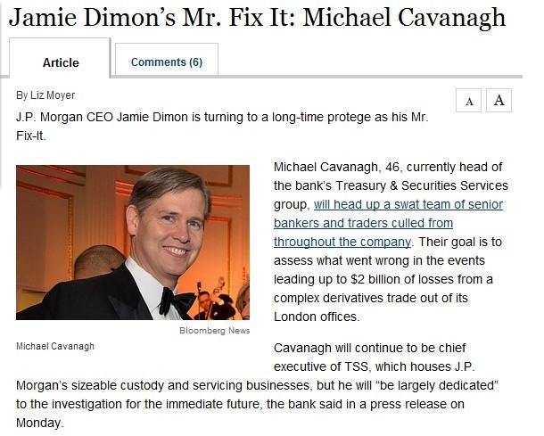 JPM Mike Cavanagh