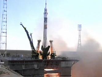 Soyuz TMA-05M Spacecraft Has Successfully Launched Along With Three Astronauts