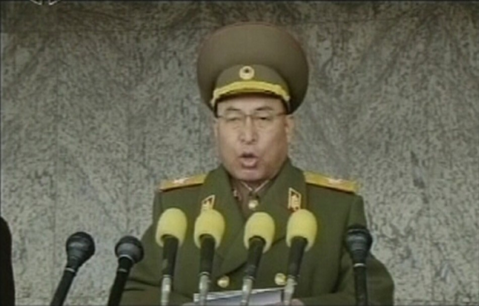 North Korea military chief relieved from all posts