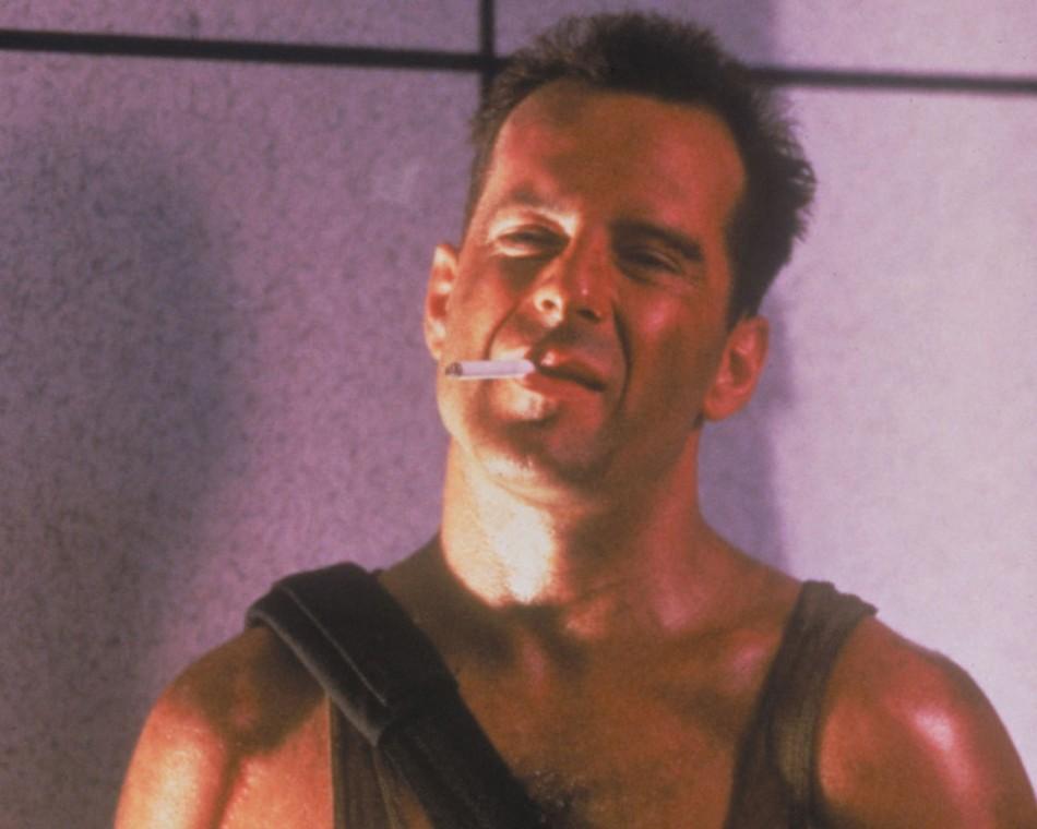 Die Hard (1988), Die Harder (1990), Die Hard With A Vengeance (1995)