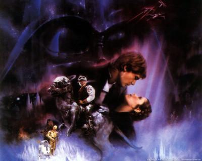 Star Wars 1977, The Empire Strikes Back 1980, Return of the Jedi 1983