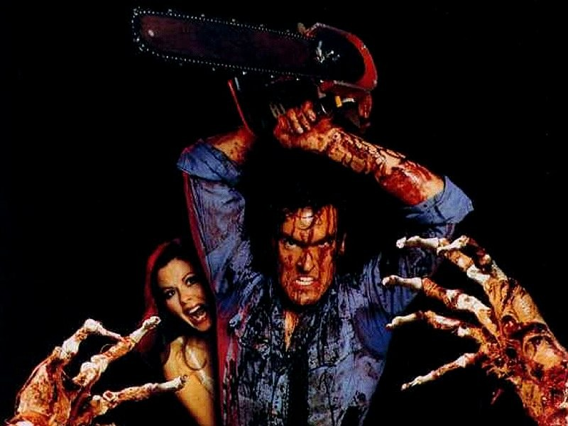 Evil Dead 1981, Evil Dead 2 1987, The Army of Darkness 1992