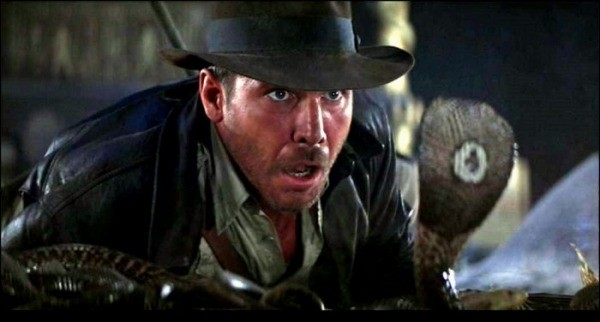 Raiders of the Lost Ark 1981, Temple of Doom 1984, The Last Crusade 1989