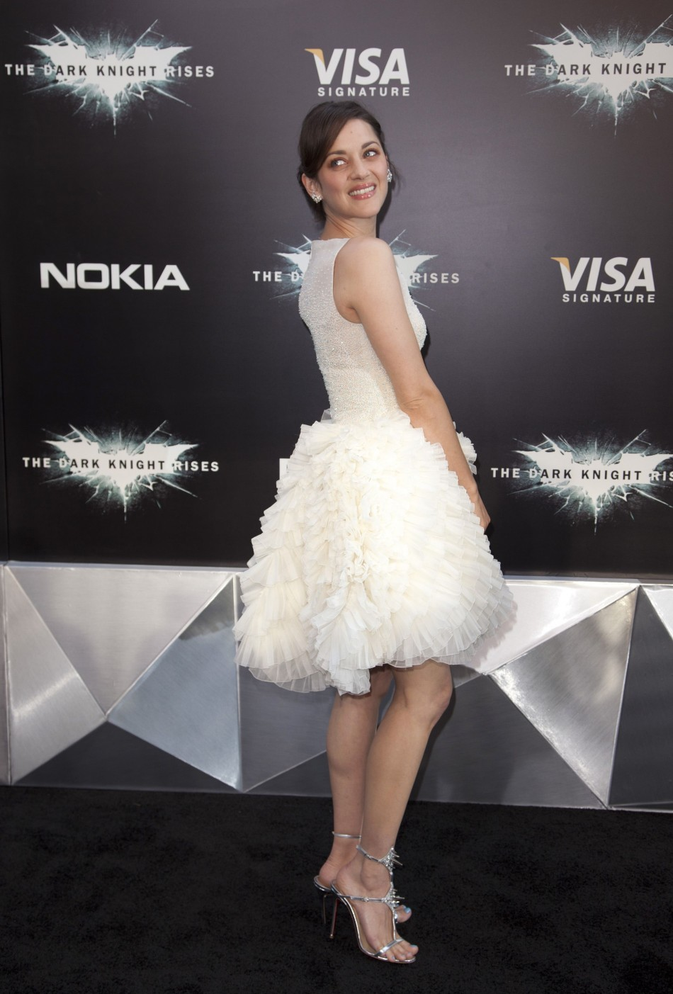 Cast member Marion Cotillard attends the world premiere of quotThe Dark Knight Risesquot in New York