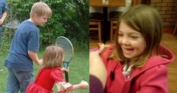 Sam Fuller, 12 and his sister Charlotte, seven, were found dead along with Rebecca, eight, and their father Ceri Fuller (Facebook)