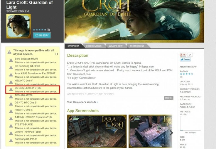 Lara Croft  Guardian of Light   Android Apps on Google Play