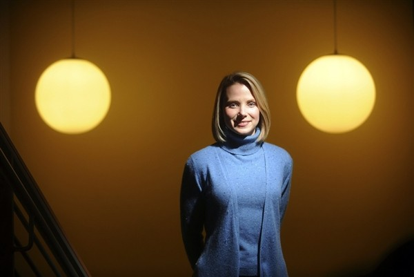 Marissa Mayer, CEO of Yahoo