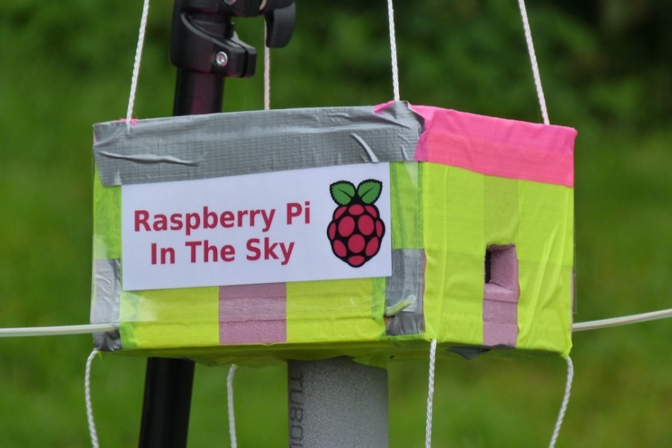 Raspberry Pi in Space in the Sky