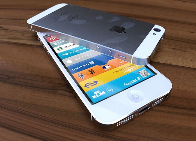 iPhone 5 render