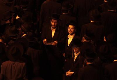 Rabbi Yosef Shalom Elyashiv  Funeral