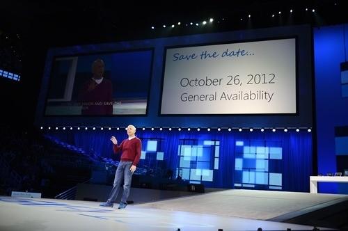 Windows 8 Release Date Announced 26 October