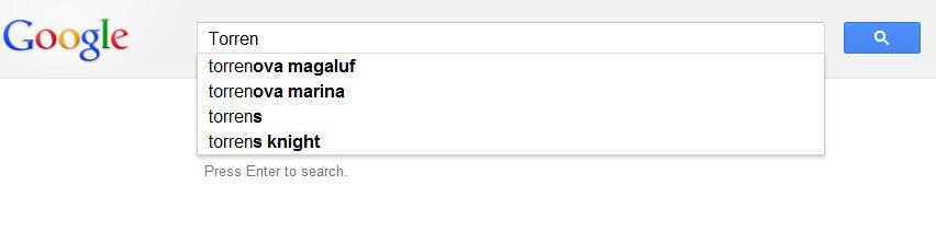 Google Censoring Piracy Terms