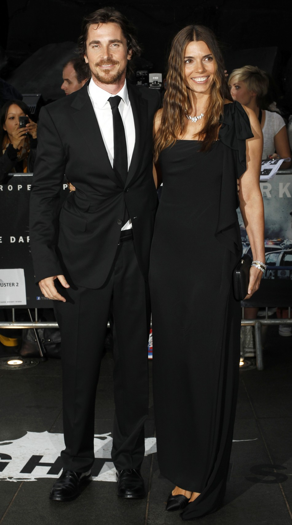 Christian Bale and wife Sandra