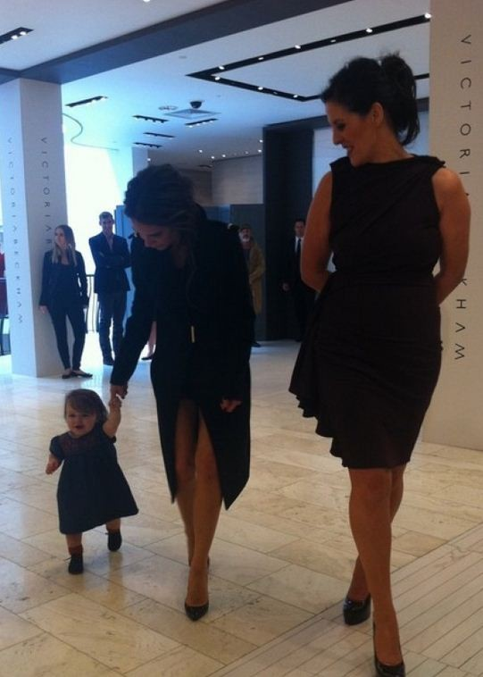 Harper Beckham is on fifth place