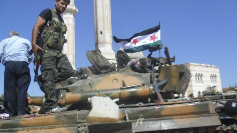 Free Syrian Army tank