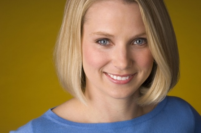 Marissa Mayer, CEO of Yahoo (Nasdaq: YHOO)