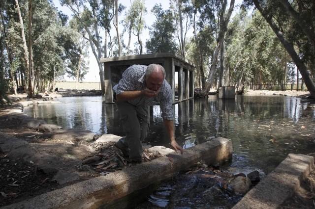 Jordan River Holy Dip