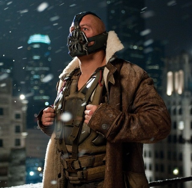 batman dark knight rises theatrical film review bane tom hardy