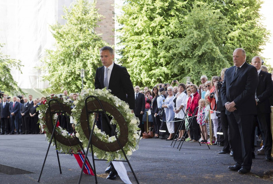Norway Remembers Victims Breivik Massacre