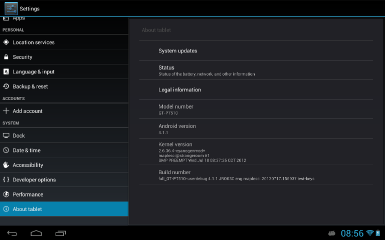 Samsung Galaxy Tab 10.1 (Wi-Fi) owners can now try the CyanogenMod 10 (CM10) based on Android 4.1 Jelly Bean on their tablet.