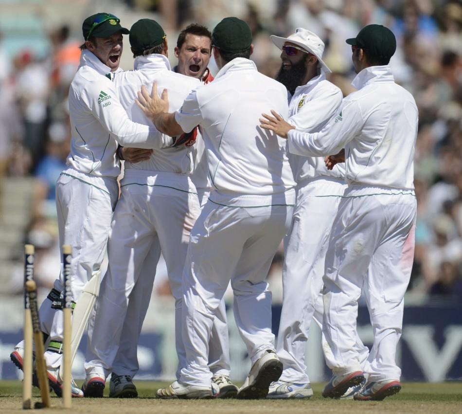 England v South Africa test
