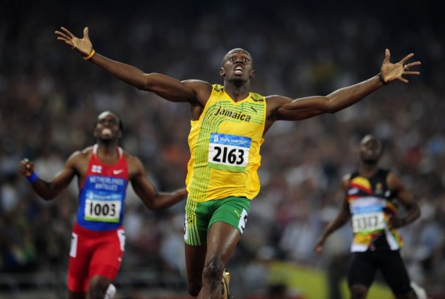 Bolt achieved super stardom following the 2008 Beijing Olympics (Reuters)