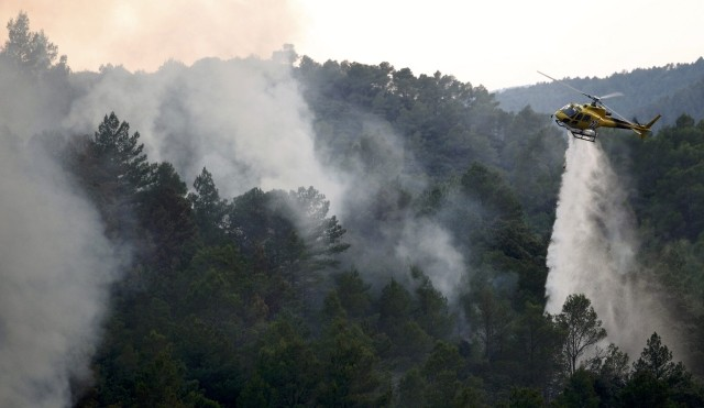 Spain Forest Fires 2012
