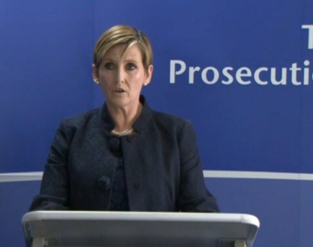 The statement was read made by Alison Levitt QC, Principal Legal Advisor to the Director of Public Prosecutions in relation to Operation Weeting (BBC)