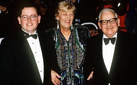 Adam Barker, with parents Ronnie and Joy Barker