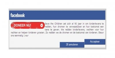 09 Dutch Trusteer Malware Targets Facebook Users with Childrens Charity Scam