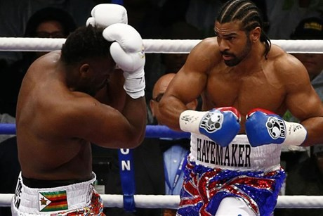 David Haye vs Dereck Chisora