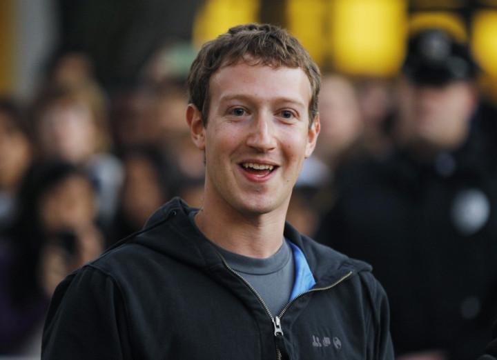 Mark Zuckerberg, Facebook CEO