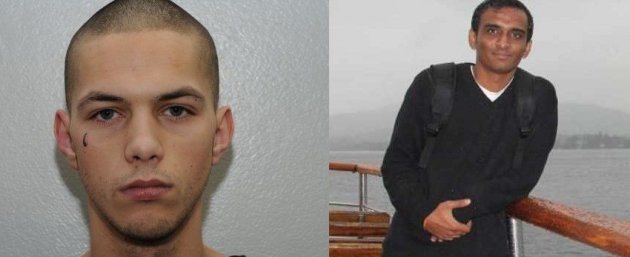 Kiaran Stapleton said he shot Anuj Bidve because he 'had the biggest head' (GMP)