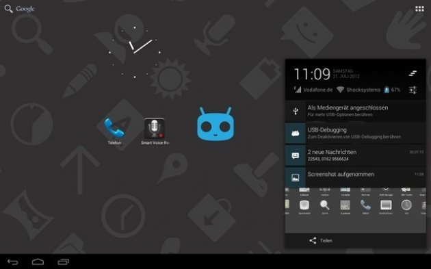 How to Install CM10 Based On Android 4.1 Jelly Bean for Samsung Galaxy Tab 2 7.0 [Guide]