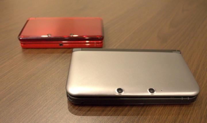 Nintendo 3ds XL review comparison behind