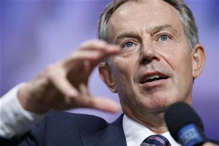'Arm Syrian rebels', says Blair.