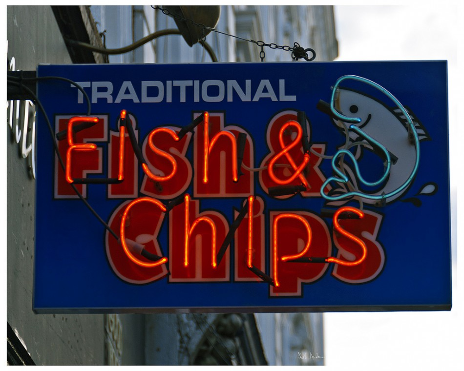 Fish And Chips Is British