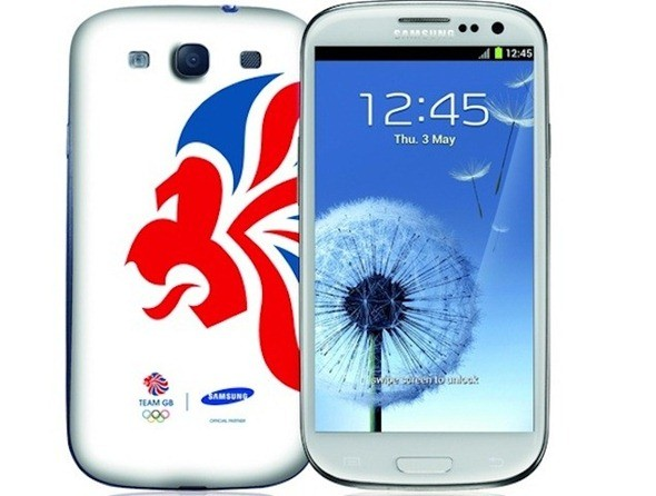 London 2012 Olympics Edition Samsung Galaxy S III: Where to Order