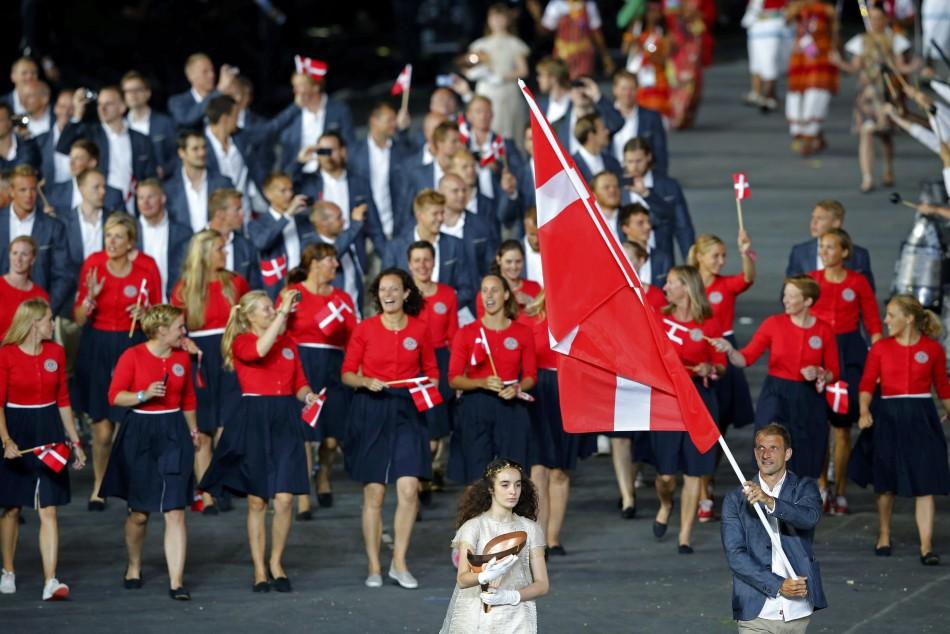 Parade of Nations at London Olympics 2012