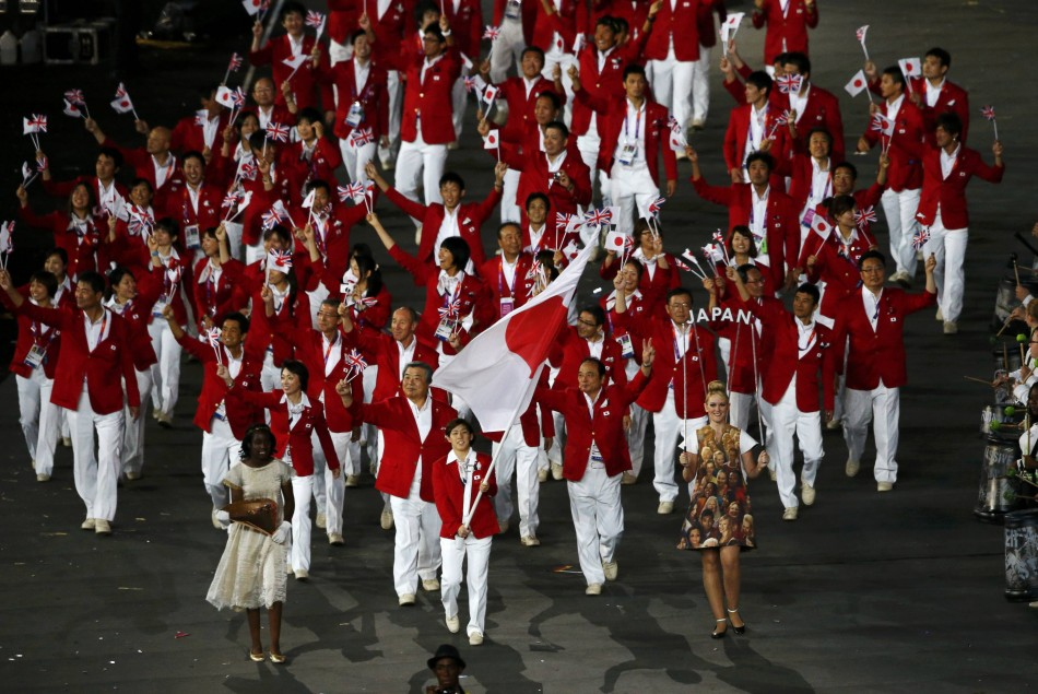 Parade of Nations at London Olympics 2012
